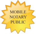 Mobile Notary Public Badge