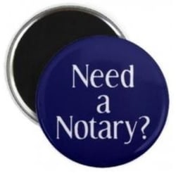 Need a notary pic